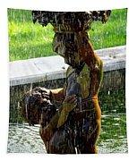 Fountain Cherubs Tapestry