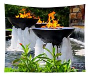 Fountains Of Fire Tapestry
