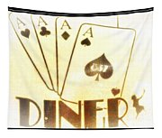 Four Aces Diner Tapestry