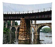 Four Bridges Of East Falls Tapestry