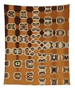 Four Egg Plant Abstract Tapestry