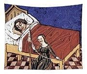 Four Humors: Melancholia Tapestry