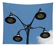 Four Lamps Tapestry