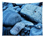 Four Rocks In Blue Tapestry