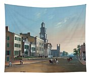 Fourth Street West From Vine - Cincinnati Tapestry