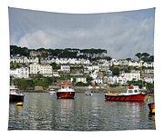 Fowey Harbor Cornwall Tapestry