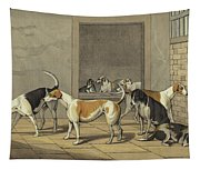 Fox Hounds Tapestry