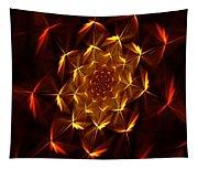 Fractal Floral 062610a Tapestry