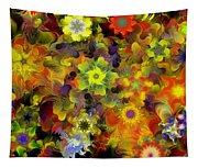 Fractal Floral Study 10-27-09 Tapestry