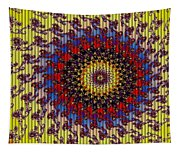 Fractal Outburst Catus 1 No. 10 - Sunsettia For Lea Tapestry