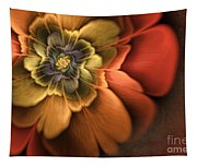 Fractal Pansy Tapestry