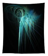 Fractal Rays Tapestry