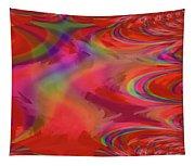 Fractal Red Tapestry