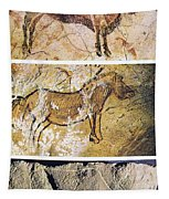 France And Spain: Cave Art Tapestry