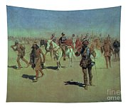 Francisco Vasquez De Coronado Making His Way Across New Mexico Tapestry