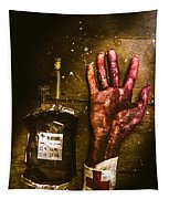 Frankenstein Transplant Experiment Tapestry
