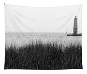 Frankfort North Breakwater Lighthouse Michigan Tapestry