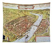 Frankfurt, Germany, 1572 Tapestry