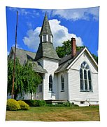 Franklin Square Church Vertical Tapestry