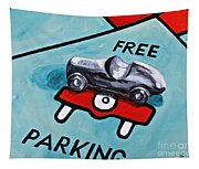 Free Parking Tapestry