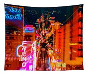 Fremont Street For One From The Heart Tapestry