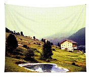 French Alps 1955 Tapestry