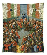 French Court, 1458 Tapestry