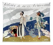 French Fashion Ad, 1923 Tapestry