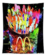French Fries Tapestry