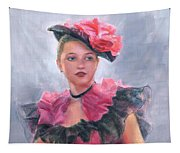 French Girl Tapestry