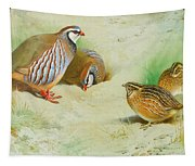 French Partridge By Thorburn Tapestry