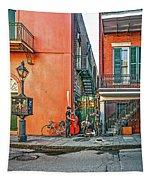 French Quarter Trio Tapestry