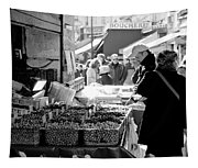 French Street Market Tapestry