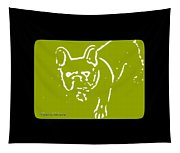 Frenchielove Design Chartreuse Tapestry