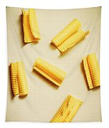 Fresh Butter Curls On Table Tapestry