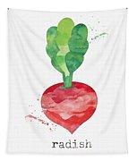 Fresh Radish Tapestry