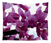 Fresh Redbud Blooms Tapestry