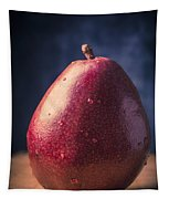 Fresh Ripe Red Pear Tapestry