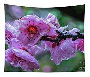 Fresh Spring Rain Tapestry