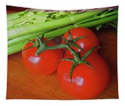 Fresh Tomatoes Tapestry