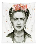 Frida Kahlo Portrait Tapestry