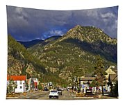 Frisco By The Mountain Tapestry