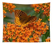 Frittalary And Milkweed Tapestry
