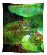 Frog And Lily Pad 3076 Idp_2 Tapestry