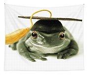 Frog Graduate Tapestry