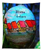 Frohe Ostern Tapestry