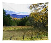 From The Field To The Mountains Tapestry
