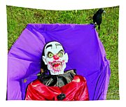 Front Lawn Funeral Tapestry