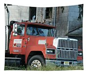 Front Of A Ford 9000 Powerhouse Tapestry