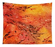Frosted Fire I Tapestry